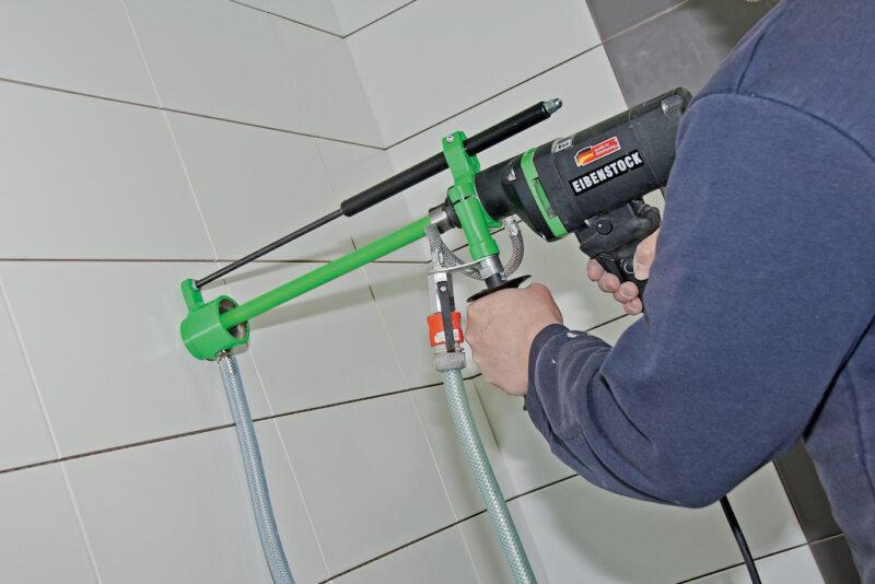 foto applicazione 1 - Carotatore ad acqua END 1550 P