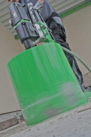 foto applicazione 1 - Unità di carotaggio Mod. PLE 450 B  3300 W Pover Line