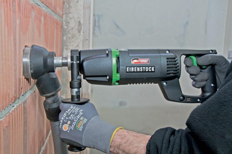 foto applicazione 1 - Carotatrice manuale  EHD 1500  completa di punta ed adattatore
