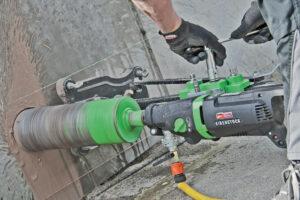 foto applicazione 1 - Unità di carotaggio Mod. DBE 162  2200 W